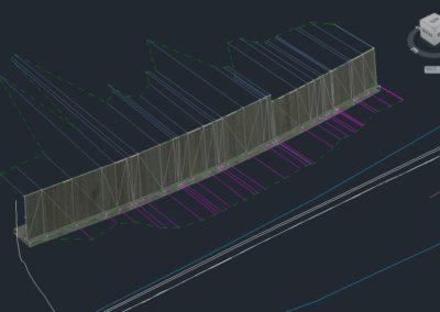 Muro con software Civil 3D