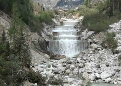 Briglie torrente Cordevole