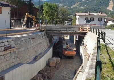 Adeguamento idraulico lungo il corso del torrente Bigontina