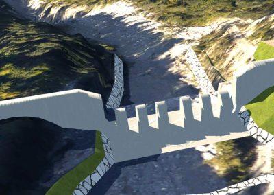 Messa in sicurezza del torrente Ru Secco a San Vito di Cadore